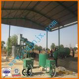 Máquina pequena da gestão de resíduos para a destilação do petróleo da pirólise ao combustível Diesel
