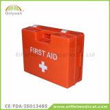 Rectángulo de los primeros auxilios de la emergencia médica del lugar de trabajo DIN13157