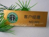 Nome da bolsa Badge molde para a personalização do logotipo (GZHY-LP-023)