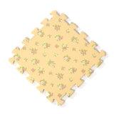 Blockierendrucken-Blume EVA-Schaumgummi-Matte