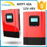 регулятор 40AMP MPPT 12V/24V/36V/48V солнечный с управлением Esmart3-40A Light+Dual-Timer