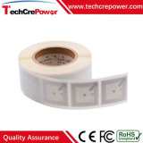 Papier d'impression personnalisée/PVC Tags RFID autocollant avec Legic MIM 1024
