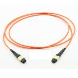 Cavo di zona ottico ottico della fibra della trasmissione di dati della fibra multimoda MPO/MTP