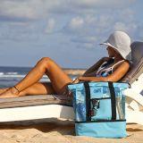 Sacos de Tote feitos sob encomenda relativos à promoção da praia do engranzamento com sacos mais frescos