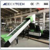 De plastic PE van het Recycling pp Vacuüm het Luchten Enige Extruder van de Schroef