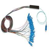 PLC Spitter da fibra óptica 1X16 da única modalidade Sc/Upc