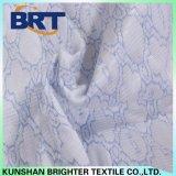 Couverture de matelas imperméable à l'eau de jacquard de sensation de couche fraîche bleue d'air