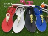Новые и моды Леди Pcu благоухающем курорте выходящего из ПВХ обувь