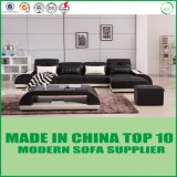 Muebles del sofá del cuero genuino de Divaani del ocio