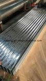 Feux de carton ondulé en acier galvanisé à chaud tôle de toit