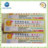 Het hete Etiket van de Sticker van het Adres van de Verkoop Csutomized Afgedrukte Verschepende (JP-S041)