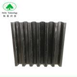 Lamas de Colonos del tubo de plástico para el tratamiento de aguas residuales