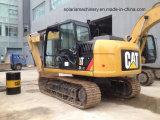Excavatrice utilisée du tracteur à chenilles 313D d'excavatrice de chenille du chat 313D