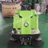 掃除人の電池式の掃除人機械の電気細い道の乗車