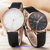 De Digitale Horloges van de Manier van het Horloge van het Kwarts van het Embleem van het Merk van de douane voor Paren (wy-17010E)