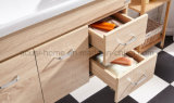 단순한 설계 현대 100cm 단단한 나무 목욕탕 내각 (ACS1-W100)