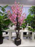 인공적인 플랜트와 꽃 복숭아 나무 740flowers
