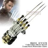 O homem Wolverine de aço de Swordx do filme de Collectibles agarra 48*8*4cm HK6315