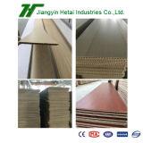 El panel de pared impermeable respetuoso del medio ambiente del material WPC con el certificado del SGS