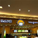 Publicidad exterior fuerte tamaño enorme tienda de iluminación LED 3D Nombres