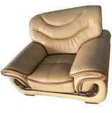 Mejor calidad de la recepción del hotel la combinación de muebles sofá de cuero (F089)