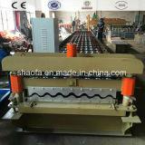 Vollautomatische Farbe Steeel Dach-Blatt-und Wand-Rolle, die Maschine bildet