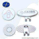 Banheira de vender multa Golf Hat Clip e marcador de bola com projetos personalizados (FTGF1819A)