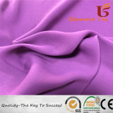100%RPET reciclado/vestido de Crepe Crepe tela con ecológica