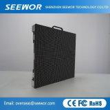 Qualität SMD3528 P5.95mm im Freien farbenreiche LED-Bildschirmanzeige-Anschlagtafel