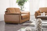 Sofá moderno 6028# do couro do sofá da HOME da mobília
