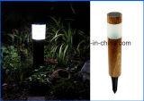 Material plástico lámpara solar para la decoración de exterior Lámpara LED Solar