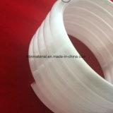 Blanco lechoso del tubo de la bobina de cristal de cuarzo.