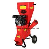burilador de madera de la gasolina de 196cc 6.5HP, desfibradora del jardín, trituradora de madera