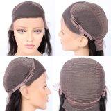 Оптовая торговля Virgin бразильского человеческого волоса Wig Kinky фигурные кружевом спереди
