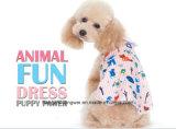 [سونمّر] رسم متحرّك كلب [ت-شيرت] 100% قطر [ت-شيرت] صغيرة كلب قميص ليّنة زيّ محبوب ثوب