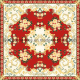 La flor de Rose diseña los azulejos de la alfombra para la sala de estar