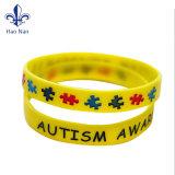 A decoração Customlogo bracelete de Silicone Pulseira Pulseira de Silicone