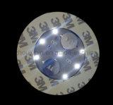 La publicité OEM LED clignotante bouteille autocollant de la Coupe du Coaster