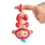 Обезьяна младенца цветастого любимчика игрушки Fingerlings обезьяны перста толковейшего электронного толковейшая электронная