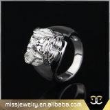 Mens Hip Hop Gouden Jesus Ring, de Juwelen Mjhr002 van de Ringen van Mensen