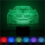 Lampada di illusione dell'automobile sportiva del motociclo/bus/treno 3D. indicatore luminoso di notte di 3D LED