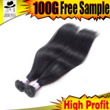 熱い販売法8Aのペルーの毛のSightlyペルーのバージンの人間の毛髪