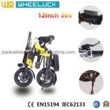 Цена CE самое лучшее складывая электрический велосипед