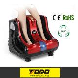 最もよいホーム美容師の血循環のReflexologyの空気圧縮のセリウムRoHSが付いている電気振動の足のフィートのマッサージャー機械
