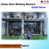 6 топливного бака дуновения прессформы слоев изготовления машины