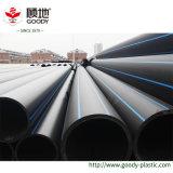 Tubo subterráneamente enterrado fácil del plástico del abastecimiento de agua del PE de la construcción