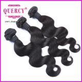 Extensão peruana/brasileira/malaia do bom preço de Quercy do Virgin do cabelo humano do corpo da onda do cabelo