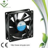 Ventilador de flujo axial de Xinyujie 80X80X25 ventilador de la lámina de 8025 largas vidas