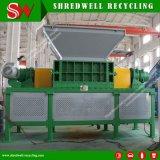 Desfibradora gemela de las latas de aluminio del eje para el reciclaje de la chatarra