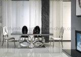 De nieuwe Eettafel van het Roestvrij staal van Mercedes van het Ontwerp